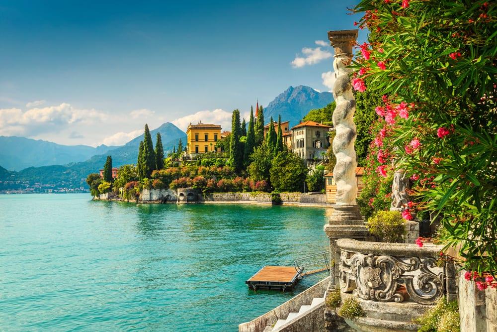 lake Como, Varenna, Lombardy region, Italy, Europe